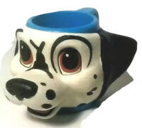Vintage 1990's Disney The 101 Dalmatians Lucky Figural Blue Mug 3D Cup Applause