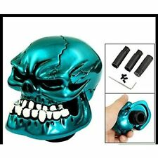 Bone Blue JAW Skull Resin Gear Knob Stick Custome All Manufacturers, Customise