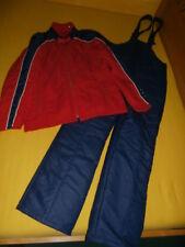 Ski Anzug ORIGINAL 70er/70s Vintage SKIANZUG SKIJACKE SKIHOSE - Latzhose Unisex