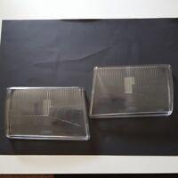 Für Mercedes W107 SL SLC 2 Scheinwerfer Streuscheibe Glas Bosch Neu R107