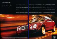 2008 Mercedes Benz CLK320 Coupe Blink Classic Vintage Advertisement Ad D167