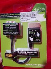 Xbox 360 Headset Adapter For Hdmi Connections