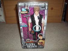 New Box Justin Bieber Singing Boyfriend Doll w/ Fashion Shoes Microphone & Stand