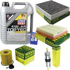 Inspection Kit Filter LIQUI MOLY Oil 5L 5W-40 For BMW 4 Gran Coupe F36 420i 428i