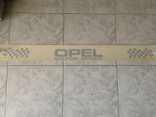Fascia fascione banda parasole adesivo esterno Opel Motor Sport trasparente