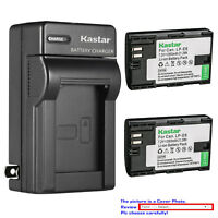 Kastar Battery AC Charger for Canon LP-E6 LP-E6N LC-E6E Canon EOS 5D Mark IV