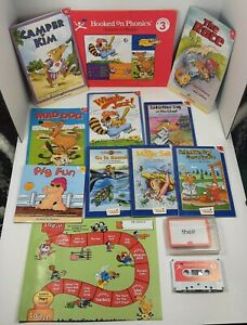 Hooked On Phonics Learn to Read Level 3 INCOMPLETE Books Tape Workbook Flashcard