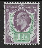 SG224.  1&1/2d.Slate Purple & Green (chalky). Very Fine Mint. Cat.£45. Ref.0866