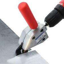 Multifunction Metal Sheet Cutting Nibbler Saw Cutter for Electric Drill Tool New