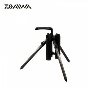 Daiwa Tripod Type Presso Rod Stand 530 Color Gunmetal Fast Shipping From Japan