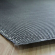 Tessuto in vera fibra di carbonio 3K PLAIN ad alta drappeggiabilità 1MT X 1MT