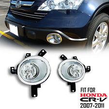 JDM Assembly Honda 2007-2011 CRV CR-V Fog Lights Replacement Driving Lamp Pair
