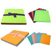 Wool mix felt craft pack (22X22cm & 30X30cm)-10 pieces per pack UK