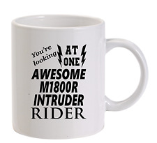 Awesome M1800R Intruder Rider Mug New Funny Birthday Gift Dad Suzuki