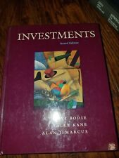 Investments Textbook by Zvi Bodie, Alex Kane, Alan J. Marcus 1993