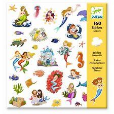 *DJECO*160*Deko*Sticker*Aufkleber*Meerjungfrauen*