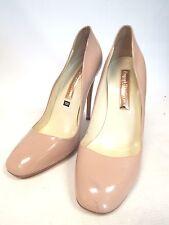Rupert Sanderson Nude Rose en Cuir Véritable Court Heels Shoes UK 7-B17