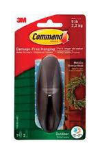 3M Command Large Outdoor Hook Plastic 5 lb. 1 pk