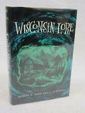 SIGNED Gard & Sorden WISCONSIN LORE 1967 Duell, Sloane and Pearce, NY 2nd Print.