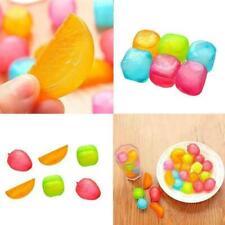 Plastic Reusable Multi Colour Ice Cubes Coloured Party Drink Cooler Freeze