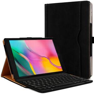 Clavier AZERTY + Étui de Protection Noir pour Samsung Galaxy Tab A 10.1 SM-T510