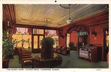 Postcard The Sunset Room at Alaska Hotel in Fairbanks, Alaska~110854