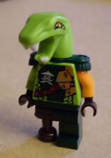 Lego Ninja Ninjago - Clancee Figur ( grün Schlange Holzbein Klancee ) Neu