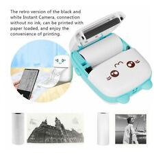 Mini Thermal Printer Bluetooth Mobile Phone Photos Study Notes Printing Machine