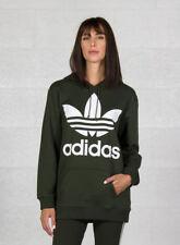 Adidas BF TRF Felpa con cappuccio Donna Verde Carnoc 40