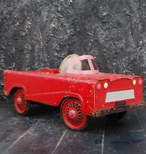 Original Red Childs Flat Face Vintage Pedal Car in perfect working condition