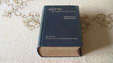 Hütte des Ingenieurs Taschenbuch von 1955