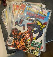 Marvel Team Up Lot! #101-150 INCOMPLETE + Annuals #1-7 READ DESCRIPTION!