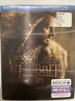 The Hobbit: The Desolation of Smaug (Blu-ray/DVD, 2014, 5-Disc Set)