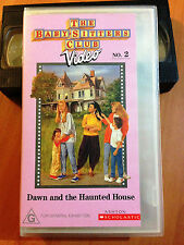 THE BABY SITTERS CLUB Vol 2 - DAWN AND THE HAUNTED HOUSE - VHS