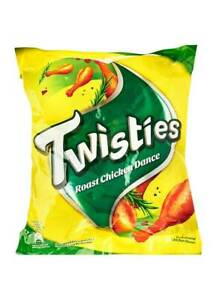 Twisties snack with different flavors to choose from