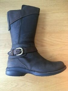 Merrell Womens Boots Size UK 4 Euro 37 Captiva Buckle-down Chocolate Brown