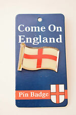 England English St George Cross Country Flag Enamel Pin Badge Football Team Gift