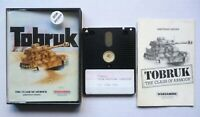 AMSTRAD CPC 464/664/6128 Disk TOBRUK: The Clash of Armour - PSS Wargamers Series