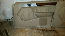 Mercedes Beige Passenger Door Panel 300E E320 300D E300D 400E 90-95 W124 Cream
