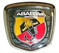 Fiat 500 Abarth Tailgate / Boot Badge Assembly 735496473 Brand New Genuine