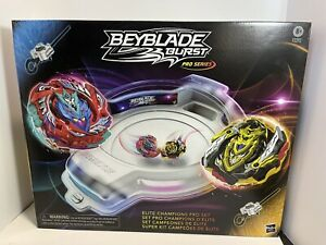 Beyblade Burst Pro Series Elite Champions Pro Set Cho-Z Valtryek Cho-Z Achilles