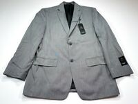 Haggar Suit Up System 40R Gray Men's Suit Jacket Coat Blazer 40 Regular NEW NWT