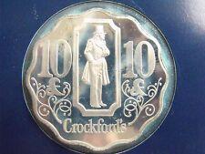 Crockford'S London Casino Franklin Mint Silver 10 Pounds Gaming Token Mint