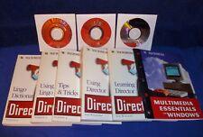 Macromedia Director Version 4.0 Cd For Windows & Multimedia 4.1 Cd W/ Lingo