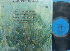 Ormandy Oistrakh ORIG OZ LP Sibelius Concerto in D Op. 47 NM CBS KLCS 2740
