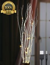 Long Flower Lightshare 16LED Natural Willow Twig Light Branch Home Decoration