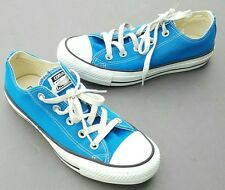 139791F ALL STAR CONVERSE CHUCK TAYLOR OX LOW ELECTRIC BLUE MEN SIZE 4 WOMEN 6