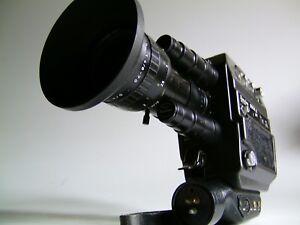 S8 Tonfilmkamera Beaulieu 5008S Multispeed+Schneider 1,4/6-70mm