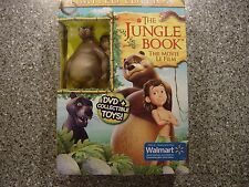 The Jungle Book: Limited Edition With Collectible Toy On DVD Children Mint
