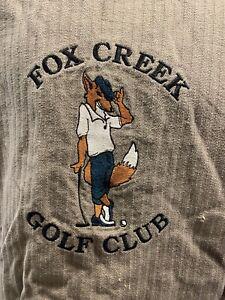 FOX CREEK Golf Club Sweat Shirt Size L
